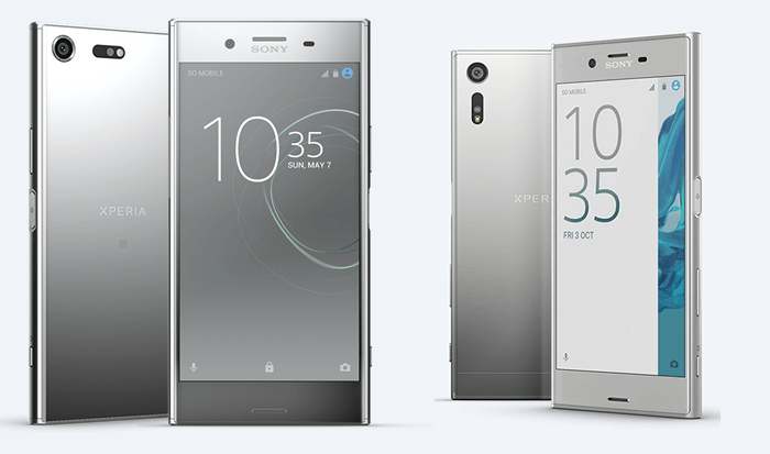 Design - Xperia XZ Premium and Xperia XZ