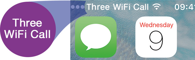 Three WiFi Calling