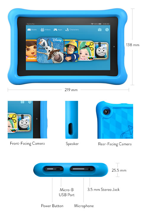 Fire tablet for kids