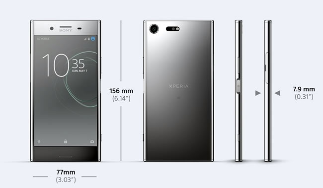 xperia xz premium review dimensions