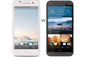HTC One A9 vs HTC One M9