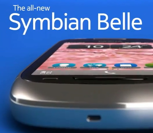 Nokia's Symbian Belle Close Up