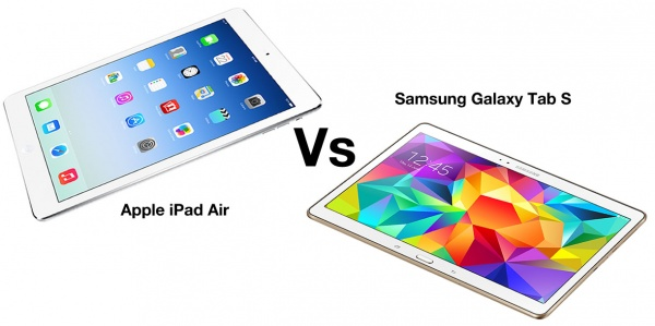 Apple iPad Air vs Samsung Galaxy Tab S 10.5