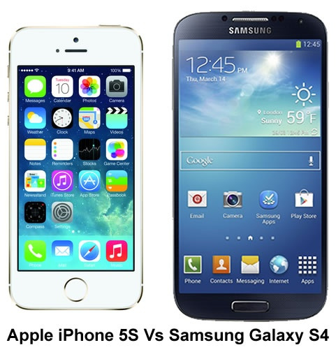 Apple iPhone 5S vs Samsung Galaxy S4 – Build quality 8ffbac00196