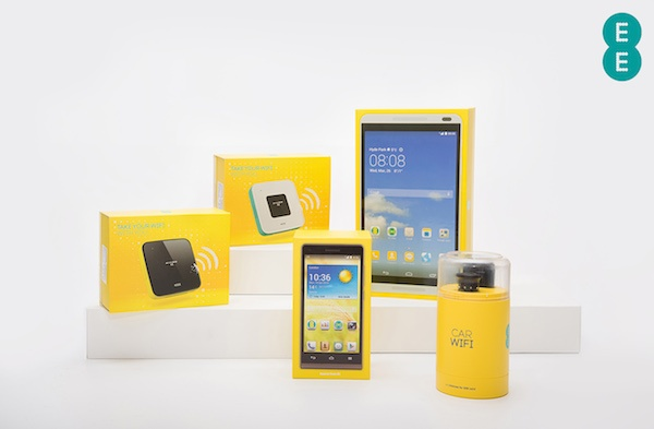 EE Buzzard tablet and new 4G Routers