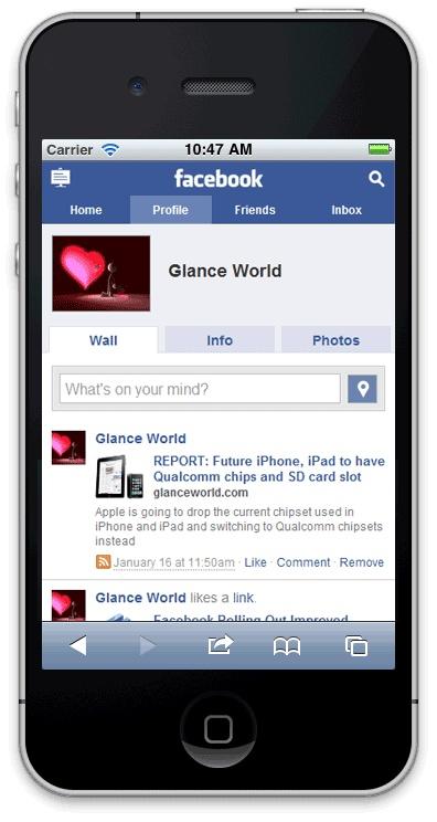 приложение для facebook android