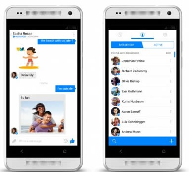 Facebook now forcing users to message with standalone app