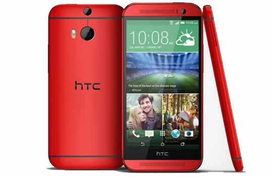Glamour Red HTC One M8 coming exclusively to O2