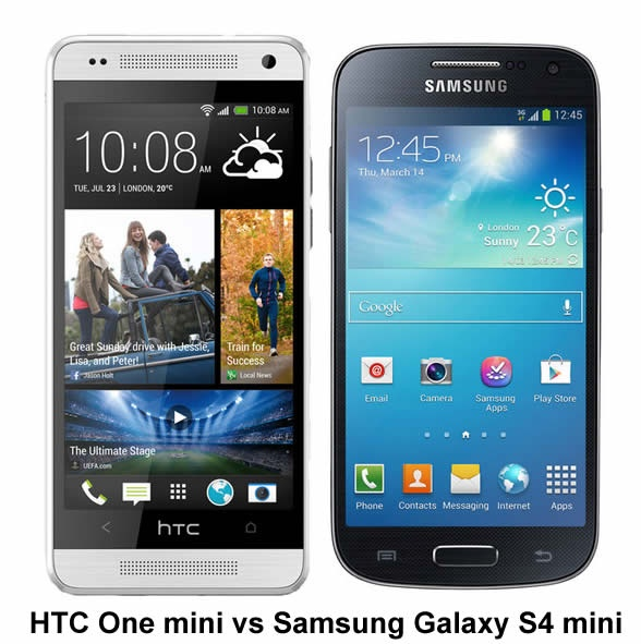 Duel: HTC One Mini Against Samsung Galaxy S4 Mini