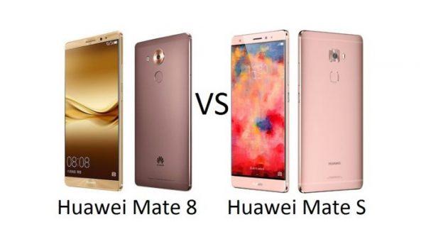 Huawei mate s vs mate 8