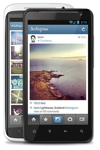 Instagram Now Available For Android Smartphones