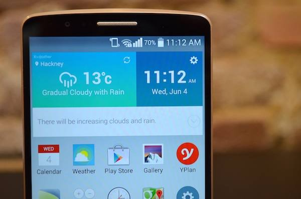 LG G3 gets Android Lollipop
