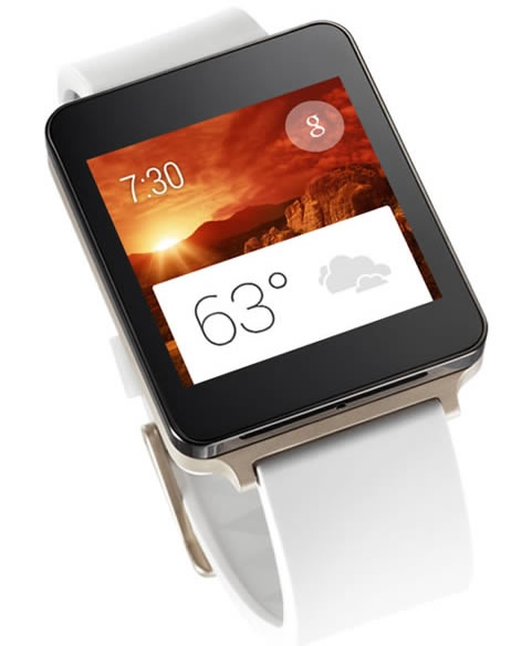 LG goes hands-on with the G Watch
