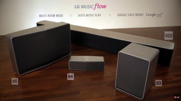 LG Music Flow has Sonos in its sights