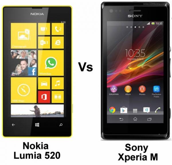 Nokia Lumia 520 Vs Sony Xperia M: Best 4-inch budget ...