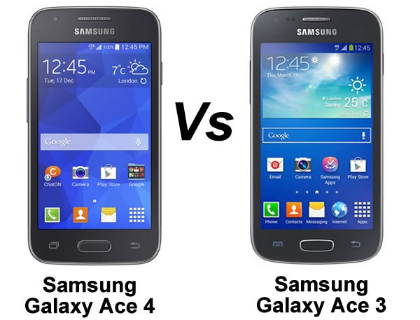Samsung Galaxy Ace 4 vs Galaxy Ace 3