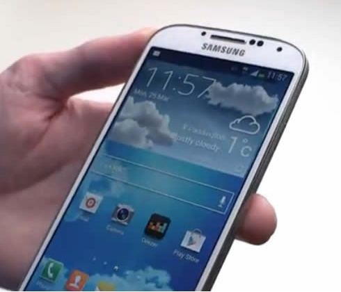 of the samsung galaxy s4 the samsung galaxy s4 is currently on pre