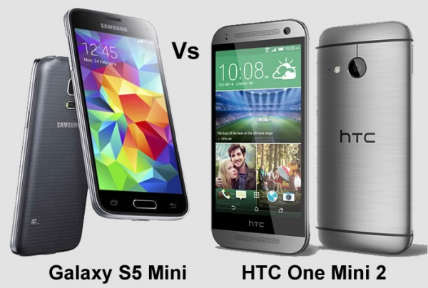 Samsung Galaxy S5 Mini vs HTC One Mini 2