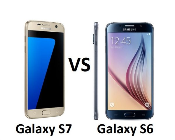 samsung galaxy s7 vs samsung galaxy s6 what s the difference