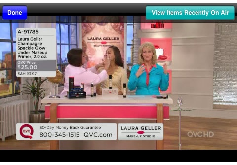 shop on qvc with your iphone