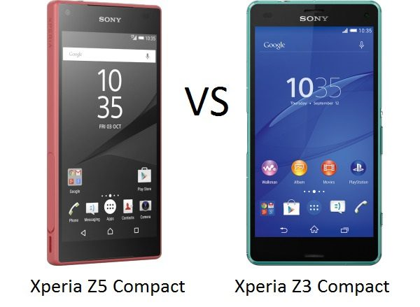 sony xperia z5 compact vs sony xperia z3 compact a. Black Bedroom Furniture Sets. Home Design Ideas