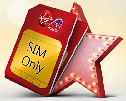 Virgin Media Unveil SIM-Only Deals For Its Customers !