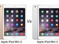 Apple iPad Mini 3 vs iPad Mini 2