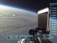 iPhone 6 survives a fall from space