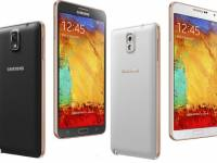Samsung Galaxy Note 3 Gold Editions