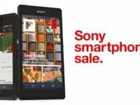 Sony Smartphone Sale on Three