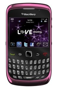 Carphone Warehouse haslaunched a Pink version of the Blackberry Curve