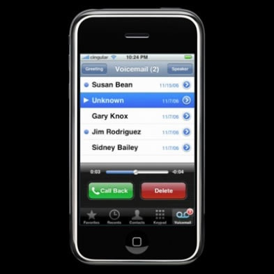 iPhone 5 Visual Voicemail