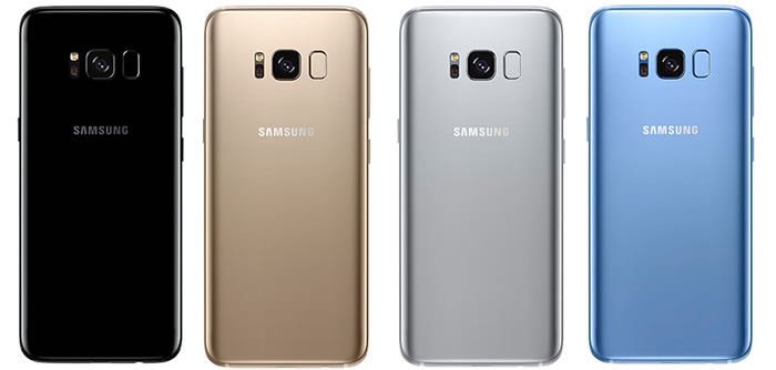 Galaxy S8 Colours
