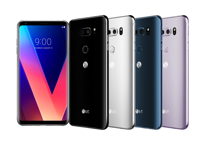 LG V30 All Colour Options