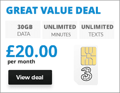 Online Exclusive SIM deal
