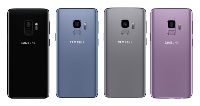 Galaxy S9 Colours