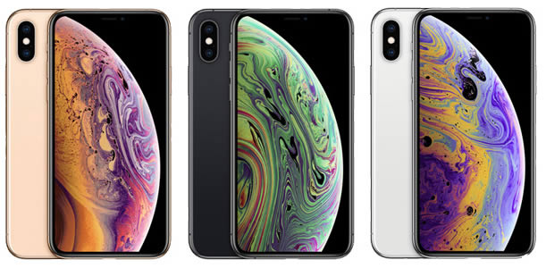 iPhone Xs Colour Range