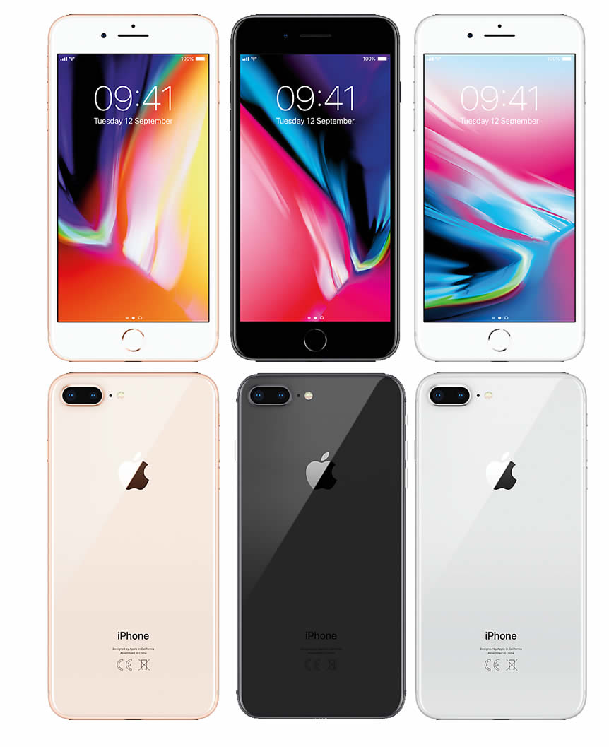 iPhone 8 Plus group