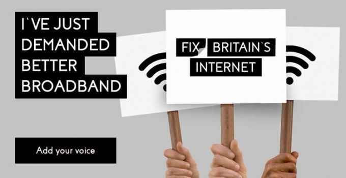 Three wants to Fix Britain's Internet
