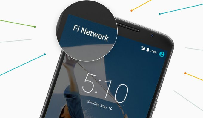 Three partners with Google on Project Fi