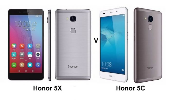 Honor 5X vs Honor 5C