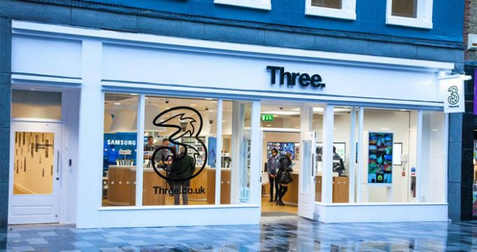Three just launched a fast 4G+ service in major cities