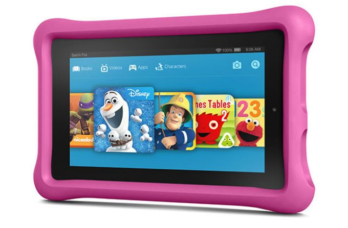 Amazon Fire Kids Edition is child-friendly, cheap and out now.