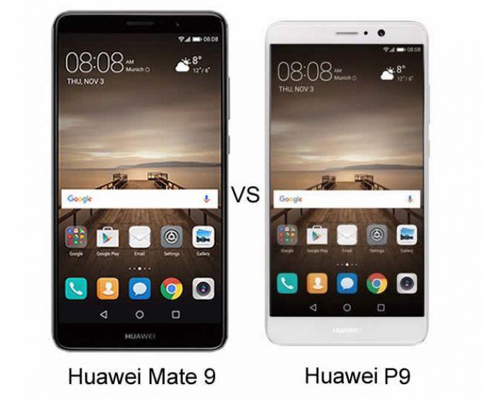 Huawei Mate 9 vs Huawei P9: Two Huawei flagships, one victor