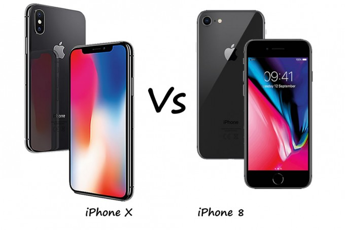 iPhone X vs iPhone 8