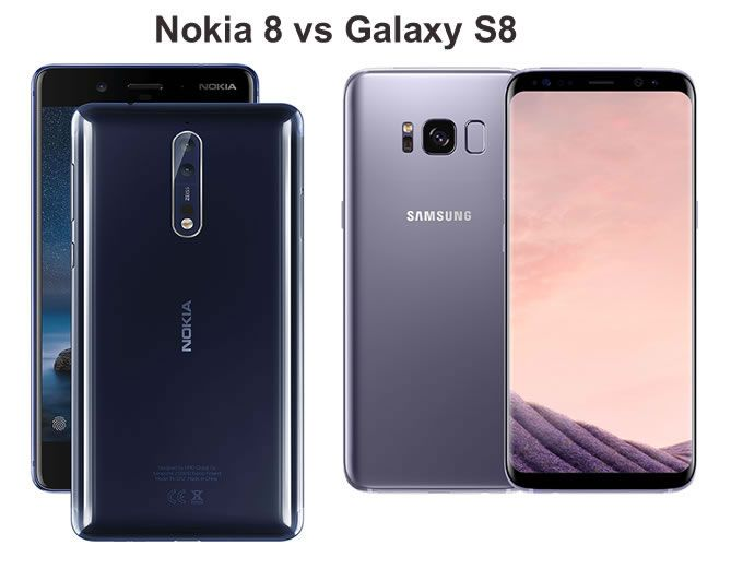 Nokia 8 vs Galaxy S8 - which flagship phone is better?