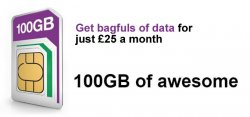 Grab a Massive 100GB Data Allowance on Three