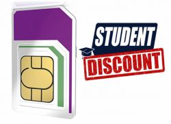 Three offers students discounted SIM deals